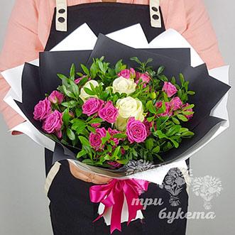 Букет на день учителя из роз